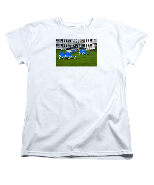 Women's T-Shirt (Standard Cut) featuring the photograph End Of Season 3 by Richard Ortolano