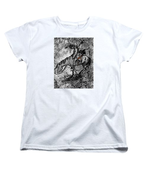 End Of The Trail 3 Women's T-Shirt (Standard Cut) by Ayasha Loya