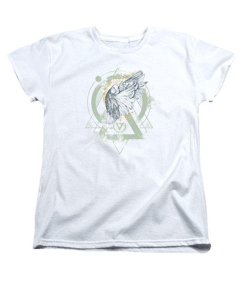 Enigma Women's T-Shirt (Standard Cut) by Chad Lonius