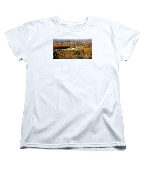 Women's T-Shirt (Standard Cut) featuring the photograph Erin Wisconsin  by Ricky L Jones