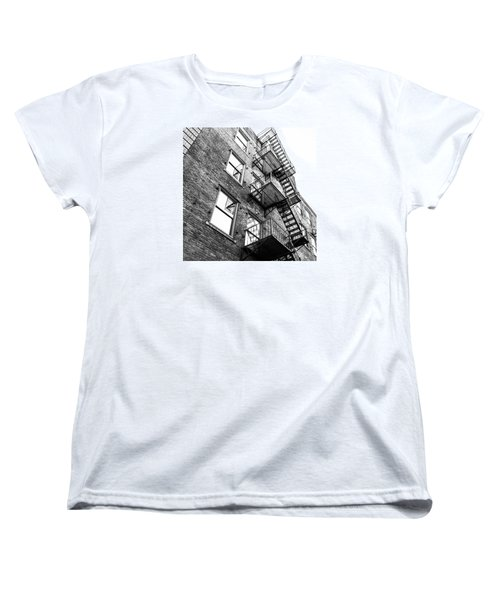 Women's T-Shirt (Standard Cut) featuring the photograph Escape by Wade Brooks