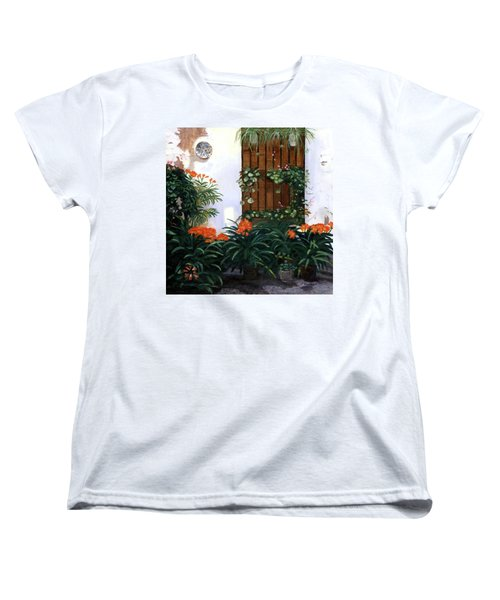 Women's T-Shirt (Standard Cut) featuring the painting Espana by Lynne Reichhart