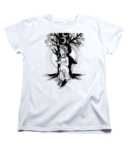 Eve Women's T-Shirt (Standard Cut) by Yelena Tylkina