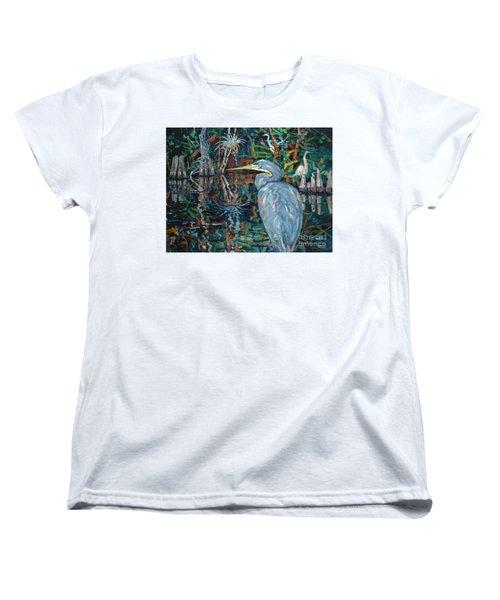 Everglades Women's T-Shirt (Standard Cut) by Donald Maier