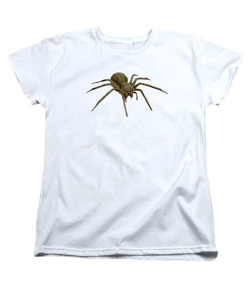 Evil Spider Women's T-Shirt (Standard Cut) by Martin Capek