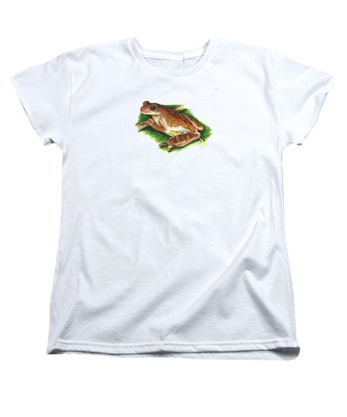 Executioner Treefrog Women's T-Shirt (Standard Cut) by Cindy Hitchcock