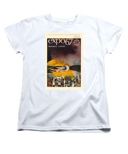 Expo 67 Women's T-Shirt (Standard Cut) by Andrew Fare