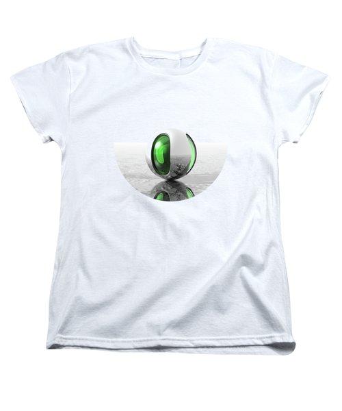Extraterrestrial Women's T-Shirt (Standard Cut) by Phil Perkins