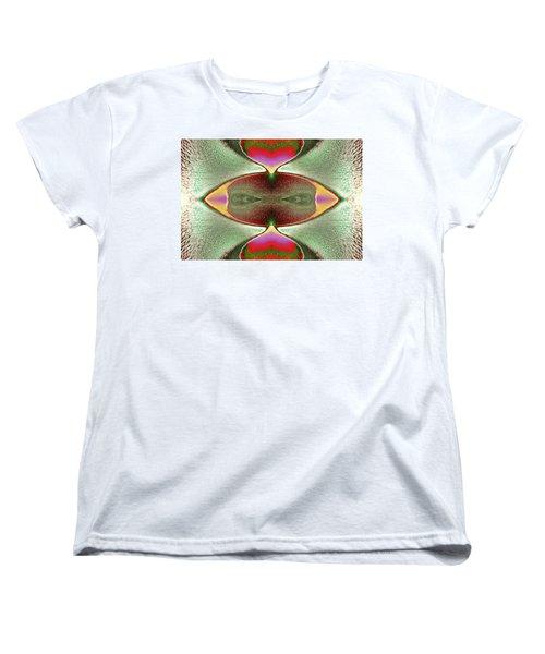 Women's T-Shirt (Standard Cut) featuring the photograph Eye C U  by Tony Beck