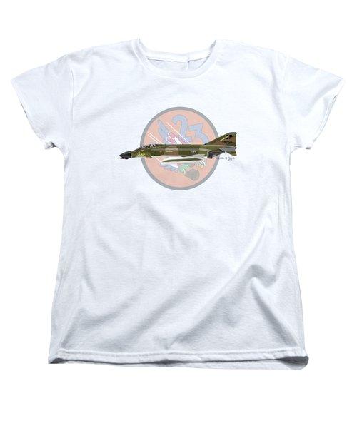 F-4d Phantom Women's T-Shirt (Standard Cut) by Arthur Eggers