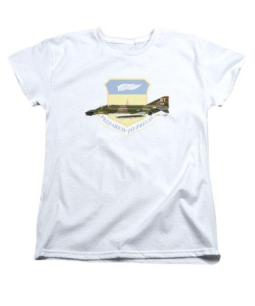 F-4d Phantom Bitburg Women's T-Shirt (Standard Cut) by Arthur Eggers
