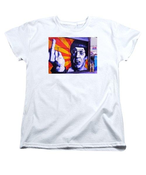 F... The Money  Women's T-Shirt (Standard Cut) by Funkpix Photo Hunter