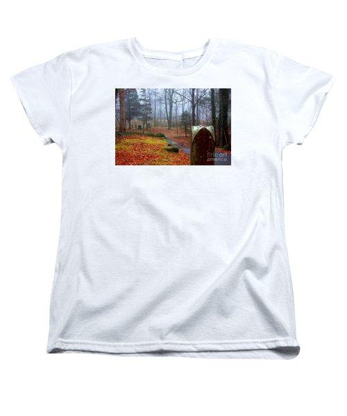 Fall Women's T-Shirt (Standard Cut) by Steven Macanka