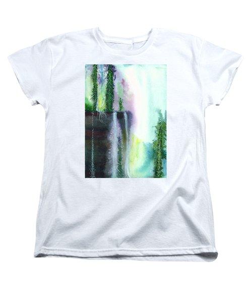 Falling Waters 1 Women's T-Shirt (Standard Cut)