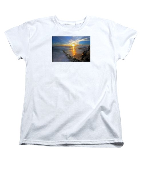 Far Out To Sea Women's T-Shirt (Standard Cut) by James Roemmling