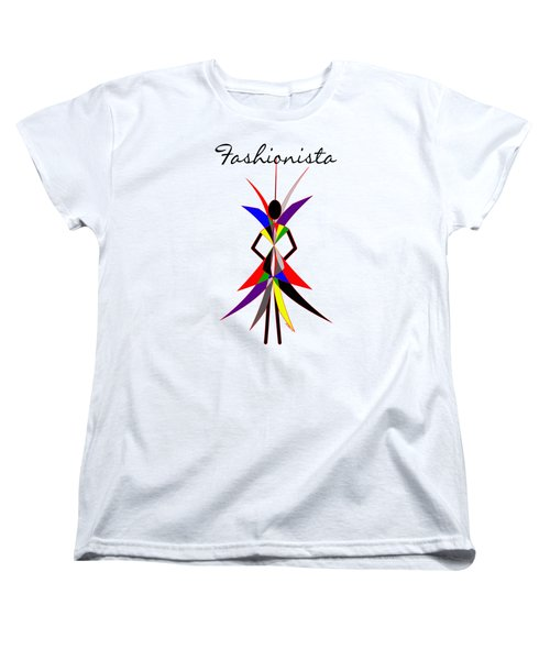 Fashionista Women's T-Shirt (Standard Cut) by Methune Hively