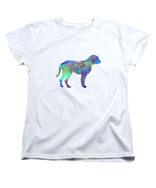 Fawn Brittany Griffon In Watercolor Women's T-Shirt (Standard Cut) by Pablo Romero