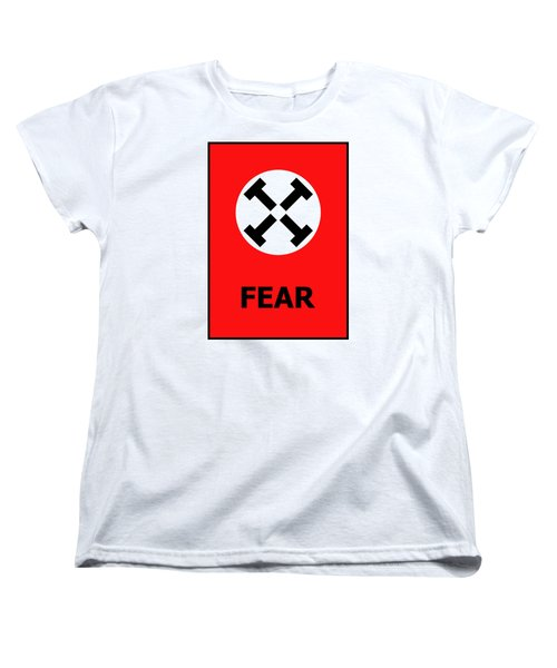 Fear Women's T-Shirt (Standard Cut) by Richard Reeve