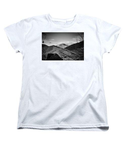 Feathertop Women's T-Shirt (Standard Cut) by Mark Lucey