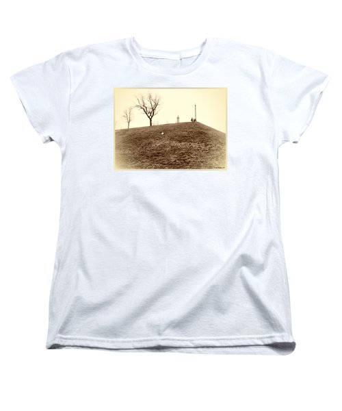 Women's T-Shirt (Standard Cut) featuring the photograph Federal Hill by Brian Wallace