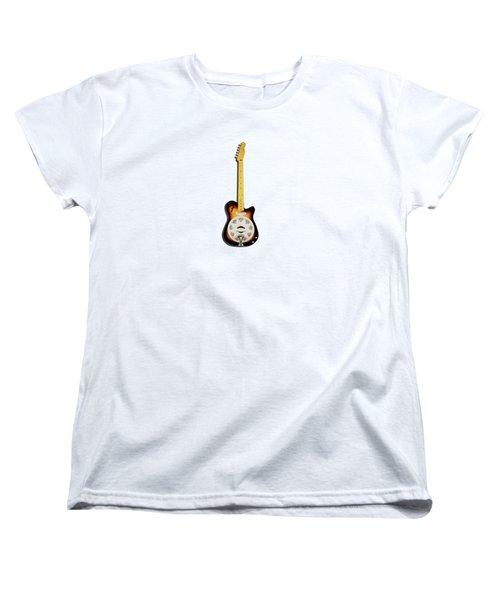 Fender Reso-tele Women's T-Shirt (Standard Cut) by Mark Rogan