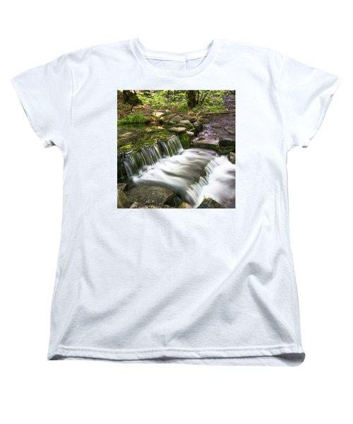 Fern Spring 4 Women's T-Shirt (Standard Cut) by Ryan Weddle