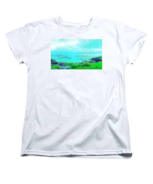 Ferry Wake Women's T-Shirt (Standard Cut)