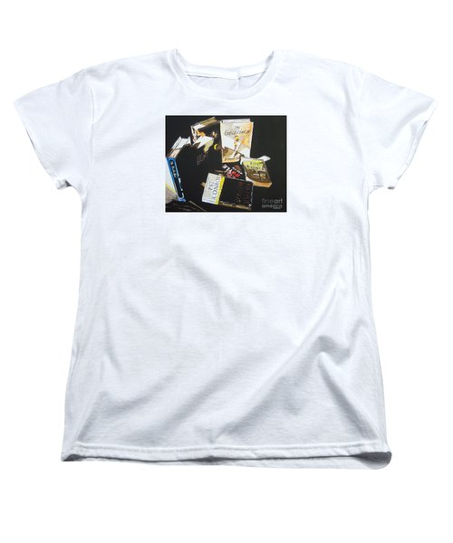 Women's T-Shirt (Standard Cut) featuring the painting Fictitious Realism by Stuart Engel