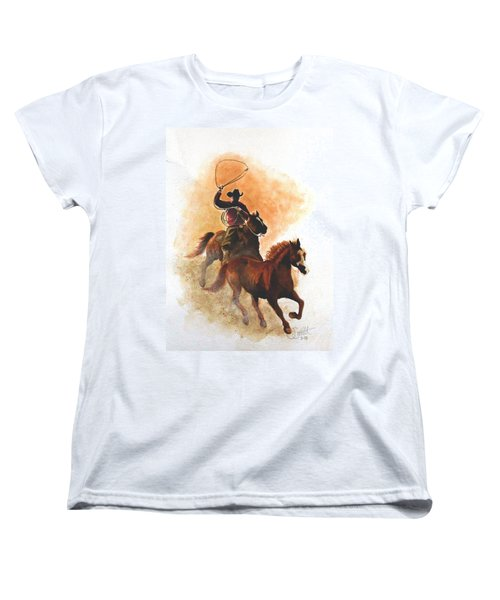 Fighting For Freedom Women's T-Shirt (Standard Cut) by Jimmy Smith