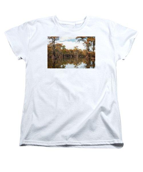 Fire Moss  Women's T-Shirt (Standard Cut)