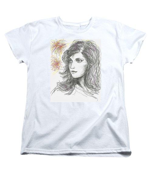 Firework Women's T-Shirt (Standard Cut) by Denise Fulmer