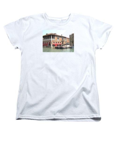 Fish Market Venise Women's T-Shirt (Standard Cut) by Lisa Boyd