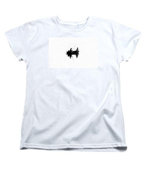 Fishing Buddies Women's T-Shirt (Standard Cut) by David Lee Thompson