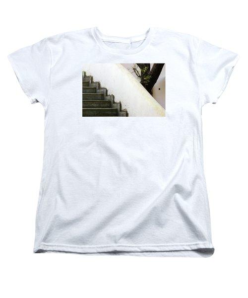 Women's T-Shirt (Standard Cut) featuring the photograph Five Steps To Glory by Prakash Ghai