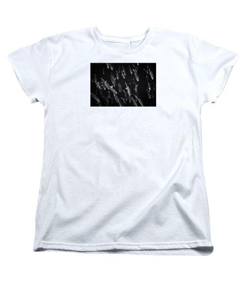 Fla-150811-nd800e-26105-bw-selenium Women's T-Shirt (Standard Cut) by Fernando Lopez Arbarello