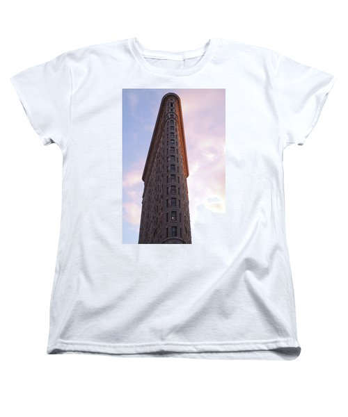 Flat Iron Building Women's T-Shirt (Standard Cut) by Henri Irizarri