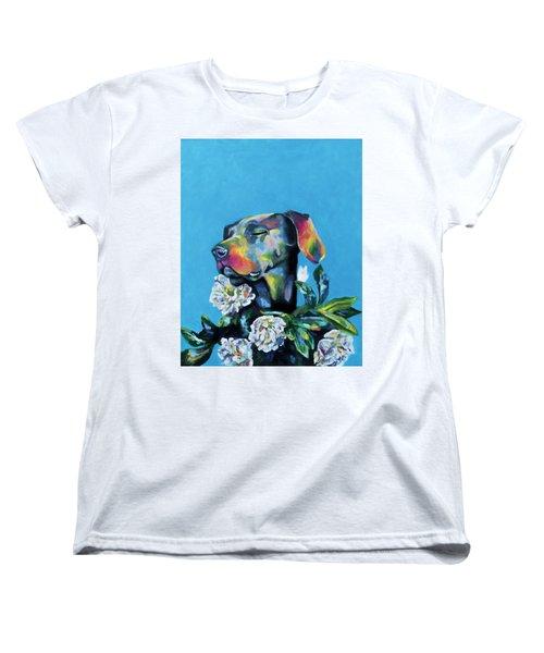 Fleur's Moment Women's T-Shirt (Standard Cut) by Arleana Holtzmann