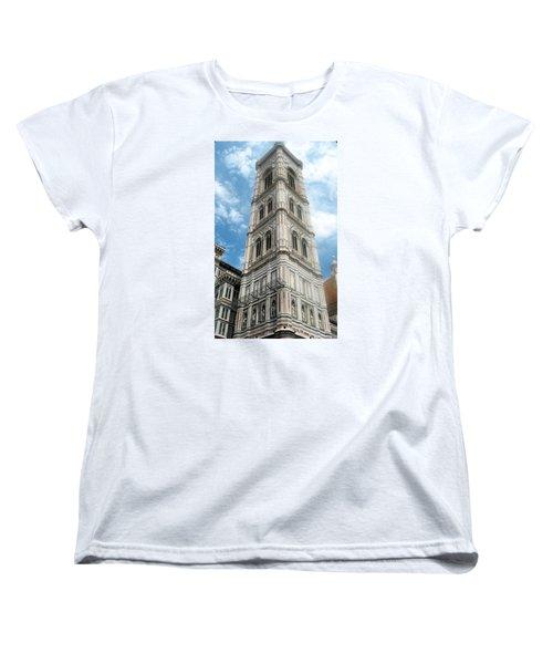 Florence Duomo Tower Women's T-Shirt (Standard Cut) by Lisa Boyd