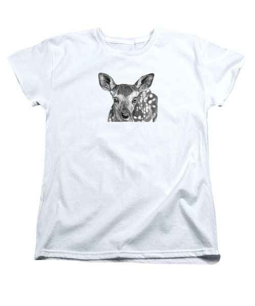 Florry The Fawn Women's T-Shirt (Standard Cut) by Abbey Noelle