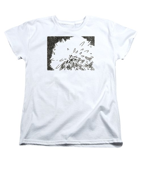Flower 1 2015 Aceo Women's T-Shirt (Standard Cut) by Joseph A Langley