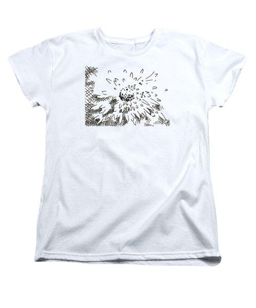 Flower 2 2015 - Aceo Women's T-Shirt (Standard Cut) by Joseph A Langley