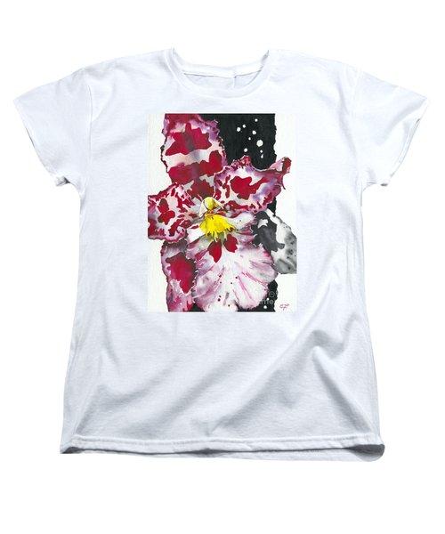 Flower Orchid 11 Elena Yakubovich Women's T-Shirt (Standard Cut) by Elena Yakubovich