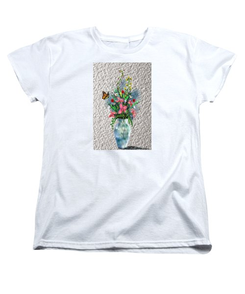 Flower Study Three Women's T-Shirt (Standard Cut)