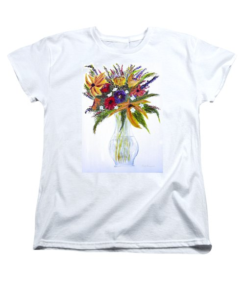 Flowers For An Occasion Women's T-Shirt (Standard Cut) by Dick Bourgault
