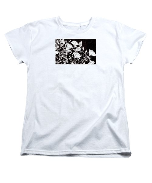 Flowers Women's T-Shirt (Standard Cut)