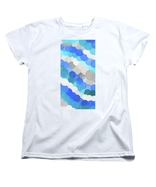 Fluid Women's T-Shirt (Standard Cut) by Dan Sproul