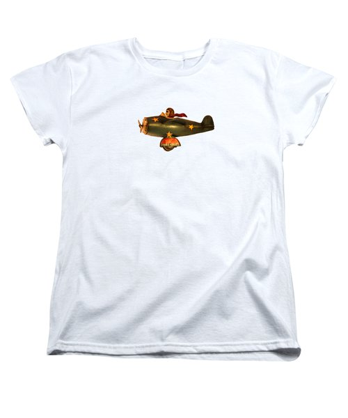 Flying High Women's T-Shirt (Standard Cut) by Linsey Williams
