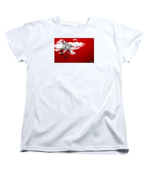 Flying High Women's T-Shirt (Standard Cut) by Paulo Zerbato