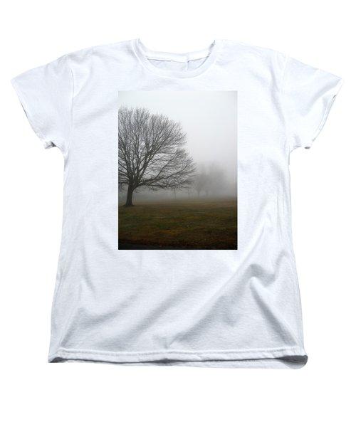 Women's T-Shirt (Standard Cut) featuring the photograph Fog by John Scates