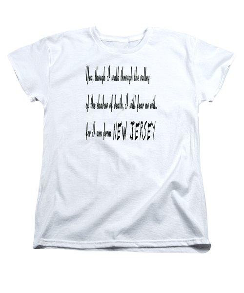 For I Am From New Jersey Women's T-Shirt (Standard Cut)